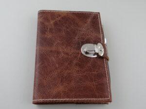 Ledereinbände für Kalender oder Notizbücher