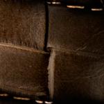 Flechtoptik dunkelbraun-35