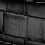 Flechtoptik schwarz (R-glatt-310)