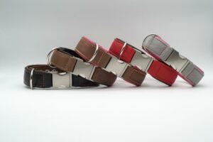 Halsbänder mit Alu-Klickverschluss
